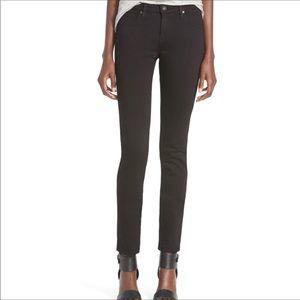 Black AG The Stilt Cigarette Leg size 29R